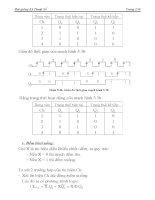 [Điện Tử] Hệ Thống Đếm Cơ Số, Đại Số Boole phần 9 pdf