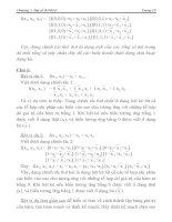 [Điện Tử] Hệ Thống Đếm Cơ Số, Đại Số Boole phần 2 ppt