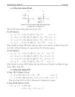 [Điện Tử] Hệ Thống Đếm Cơ Số, Đại Số Boole phần 4 ppt