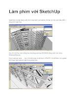 hưỡng dẫn sử dụng sketch up animation render