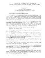 TÀI LIỆU ÔN TẬP MÔN KIẾN THỨC CHUNG KỲ THI TUYỂN CÔNG CHỨC THÀNH PHỐ HÀ NỘI  NĂM 2014