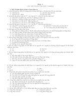 480 câu hỏi Hữu Cơ