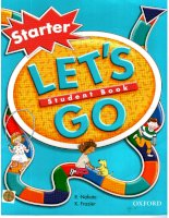 oxford - lets go starter students book