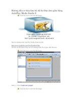 hướng dẫn cơ bản làm bộ all in one đơn giản bằng autoplay media studio 8