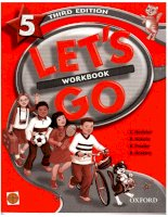 oxford - lets go 5 workbook 3rd edition