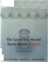 The least you should know about English docx