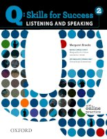Skill for success  speaking and listening