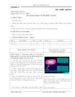 Tiết 22 - Bài 10 Khái niệm về hệ điều hành