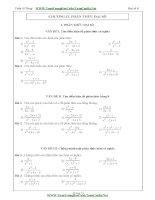 20 bài tập toán về phân thức đại số toán lớp 8