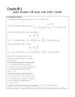 bài toán giá trị tức thời trong dòng điện xoay chiều