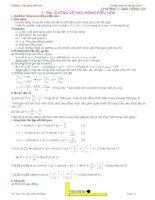 giáo trình lý thuyết ôn thi đại học môn vật lý