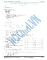 Hướng dẫn giải đề thi cao đẳng 2014 môn toán khối a,b