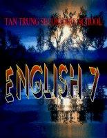 English 7 Unit 12 language focus 4