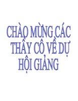 Tiết 38- Luyện tập chuong ( Nhì tỉnh Hải Duong- nam hoc 2009- 2010