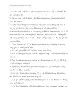 142 câu hỏi trắc nghiệm đúng sai môn kinh tế vi mô 2