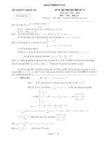 Tuyển tập đề thi học sinh giỏi tỉnh môn toán lớp 12 từ năm 1999 - 2011