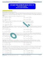 các dạng bài tập về con lắc lò xo (2)