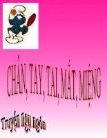 Chân - Tay - Tai - Mắt - Miệng