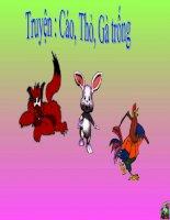 Cáo, Thỏ và Gà trống