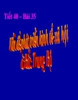bai 35:van đe phat trien kinh tế xã hội ở băc trung bộ