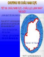 Tiet 56: Chau nam cuc - Chau luc lanh nhat the gioi