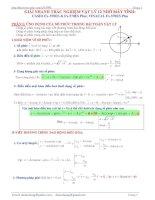 Sử dụng máy tính cầm tay giải bài tập vật lý
