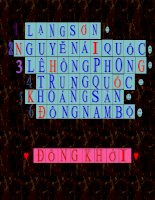 Giai o chu chuong trinh HDNGLL