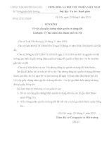 Bài tập học kì kỹ năng soạn thảo văn bản hành chính thông dụng soạn thảo tờ trình