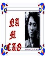 Nam Cao - Cuộc đời và con người