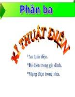 Bai 32 Vai tro cua dien nang trong doi song