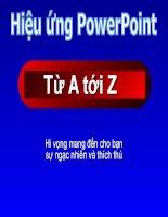 Huong dan tao hieu ung 3D power point  (hot)