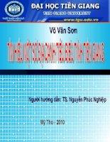 Tìm hiểu một số địa danh tiêu biểu tỉnh Tiền Giang