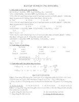 bài tập về phản ứng este hóa