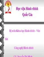 BAI GIANG TAM LI HOC DAI CUONG