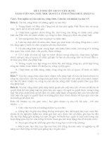 ĐỀ CƯƠNG ôn THI TUYỂN DỤNG GIÁO VIÊN MN, TIỂU học 2014 (phần 1)