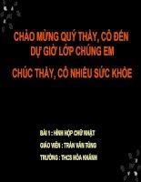 Bai 3. The tich hinh hop chu nhat
