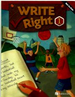 build and grow write right 1