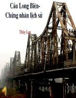 Cầu Long Biên- chứng nhân lịch sử