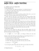 lý thuyết và bài tập vật lý 11 đầy đủ