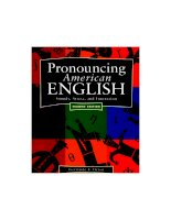 pronouncing american english - sound stress and intonation 2nd edition