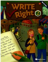 build and grow write right 2