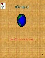 Địa lí 5-Các dân tộc và sự phân bố dân cư-(Giải nhất thi GADT)