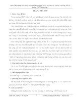 skkn một số biện pháp khắc phục những lỗi thường gặp trong bài làm văn của học sinh lớp 11a2 trường thpt quan sơn 2