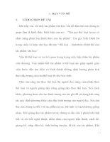 skkn kinh nghiệm giảng dạy tác phẩm  chữ người tử tù của nguyễn tuân theo đặc trương thể loại.