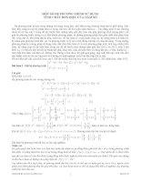 tài liệu hệ phương trình,hay và có lời giải chi tiết
