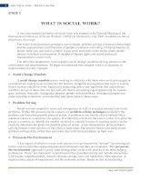 Thuật ngữ chuyên ngành công tác xã hội