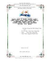 skkn giáo dục ý thức pháp luật cho học sinh THPT qua bài 6 chương trình GIÁO DỤC CÔNG DÂN 12 công dân với các quyền tự do cơ bản. thpt vĩnh lộc