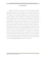 KẾ HOẠCH MARKETING SẢN PHẨM SỮA BẮP KHANG MINH