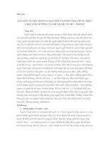 CÁCH XƯNG hô TRONG GIAO TIẾP THƯƠNG mại TIẾNG NHẬT CHỊU ẢNH HƯỞNG của QUAN hệ UCHI SOTO