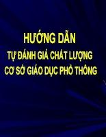 Bai 3 HD tu danh gia chat luong giao duc PT